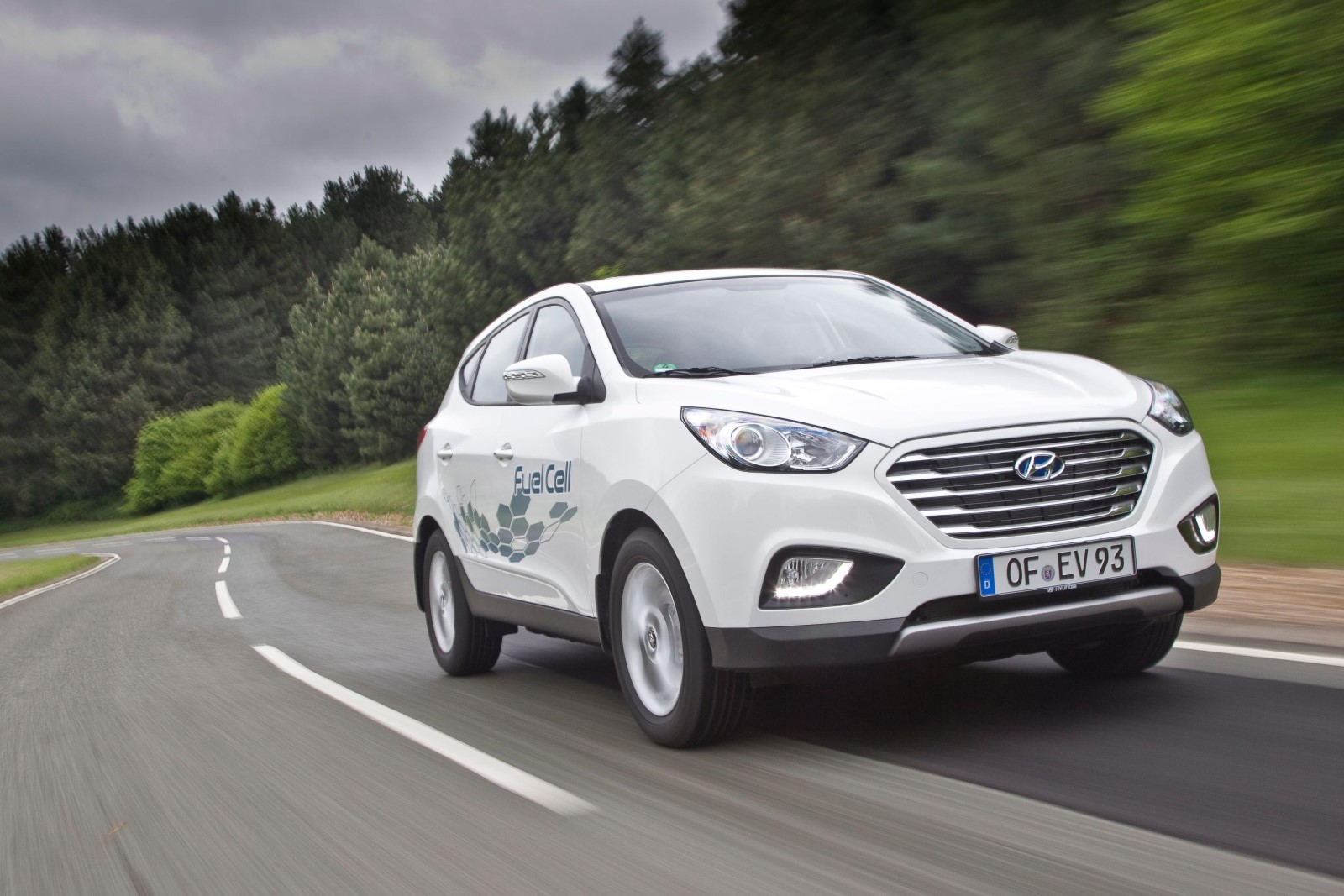 Image result for hyundai tucson fuel cell