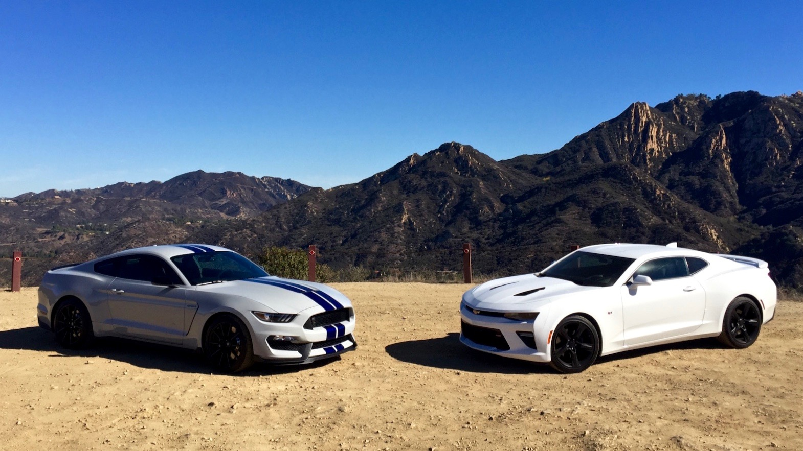 2016 Chevrolet Camaro SS 2016 Ford Shelby GT350 2017