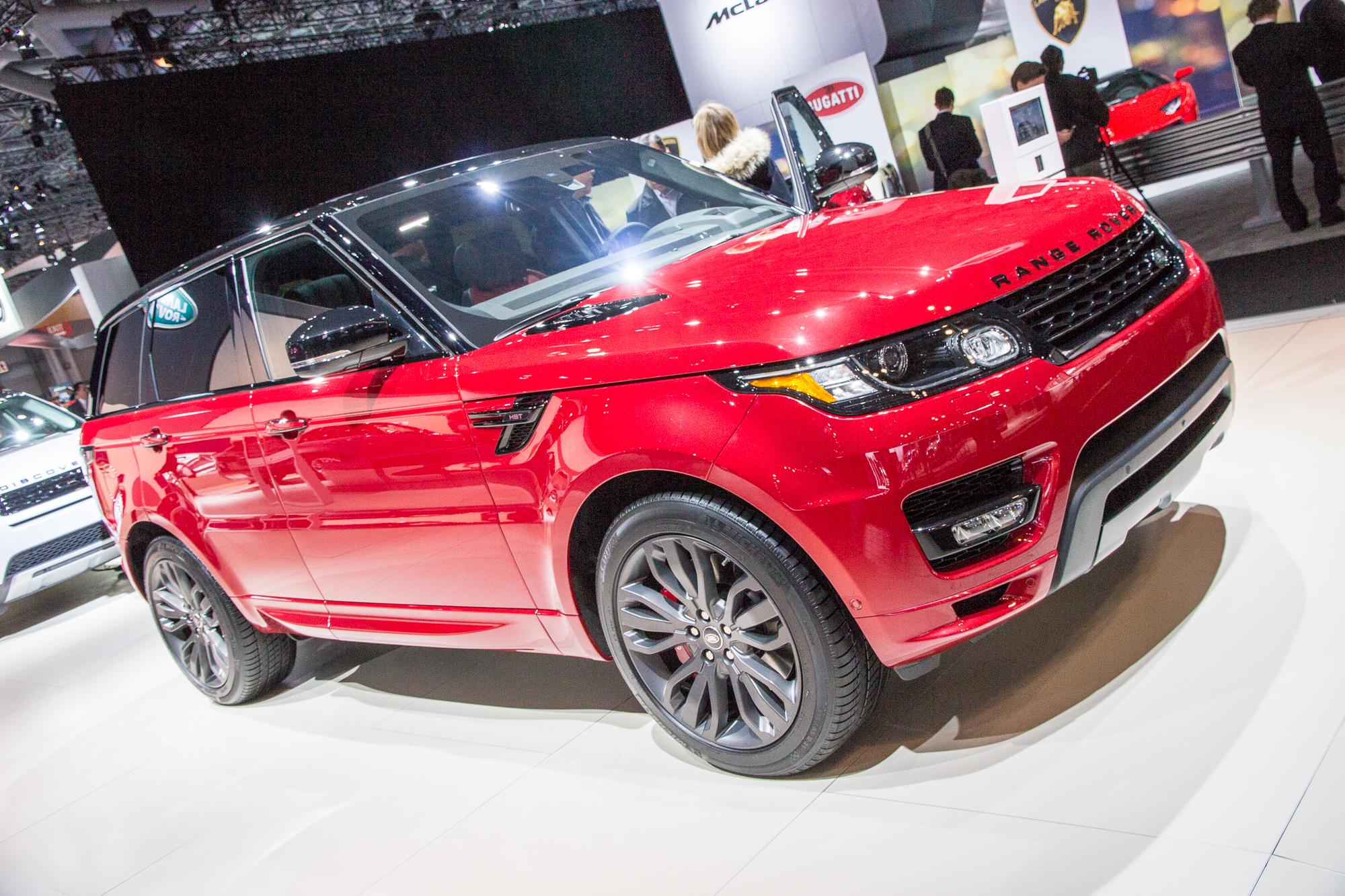 2016 Range Rover Sport HST Limited Edition 2015 New York Auto