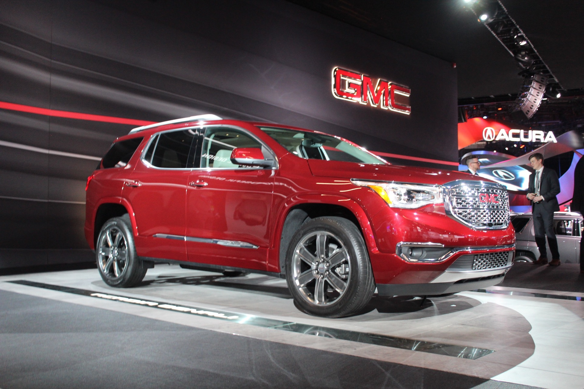 2017 GMC Acadia Drops Weight Ups The Power Live Photos