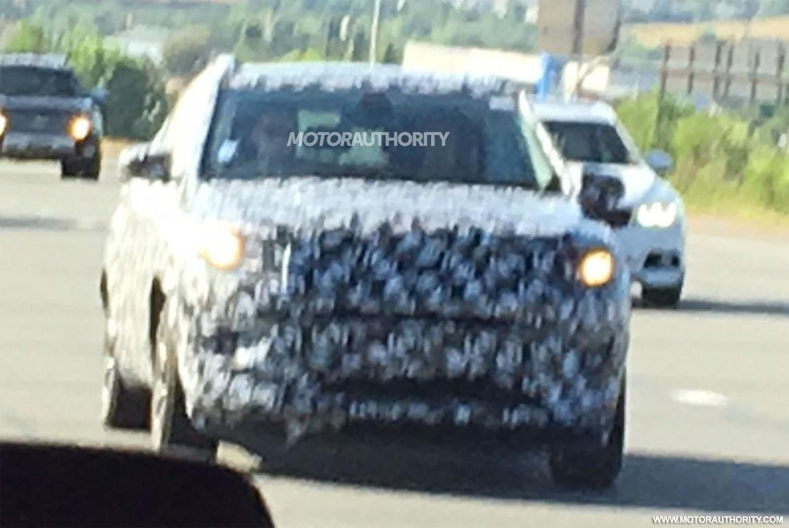 2017 jeep compass/patriot replacement spy shots