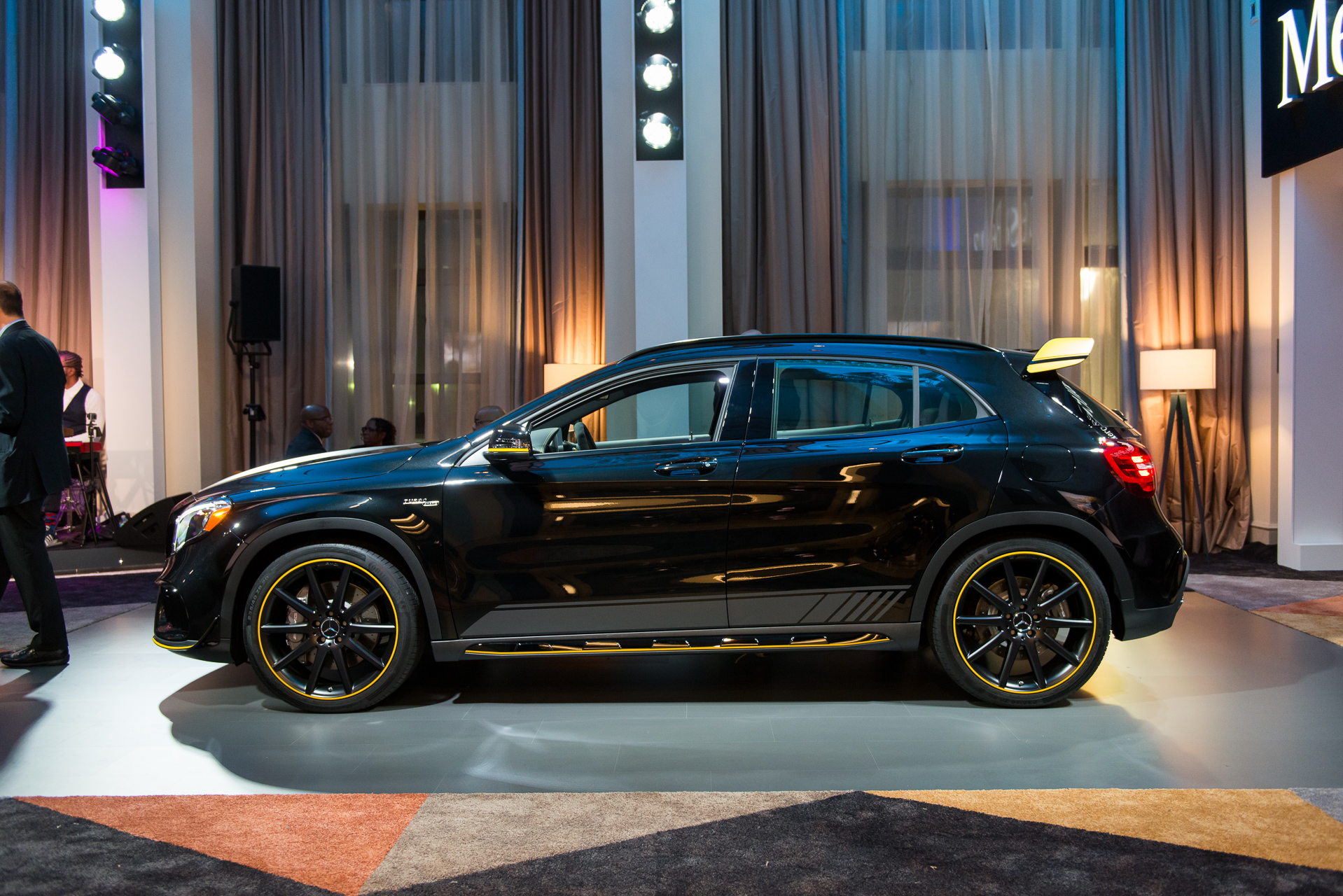 Mercedes AMG GLA45 And CLA45 To Get Black And Yellow AMG