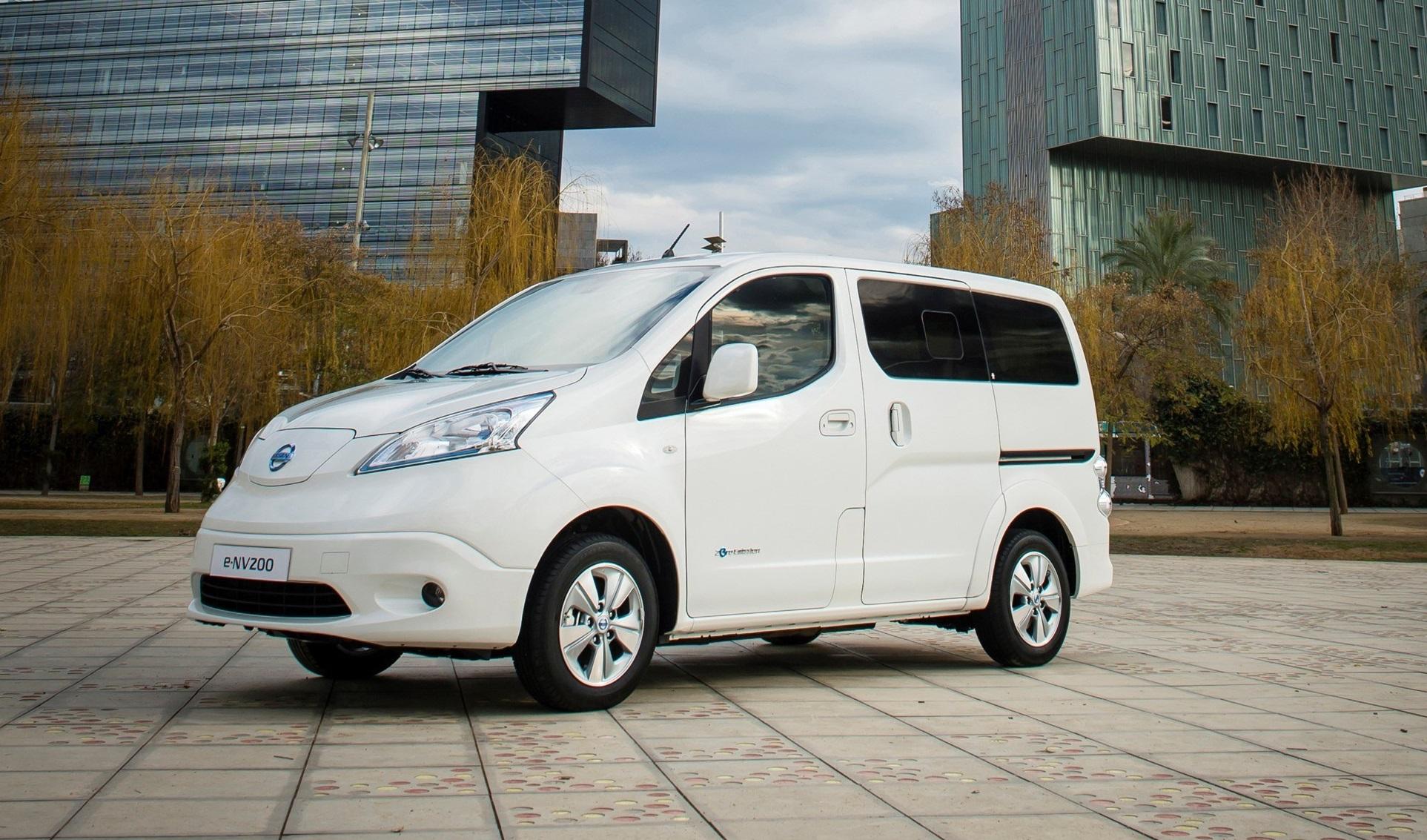 Nissan E NV200 Electric Van Gets Longer Range Battery