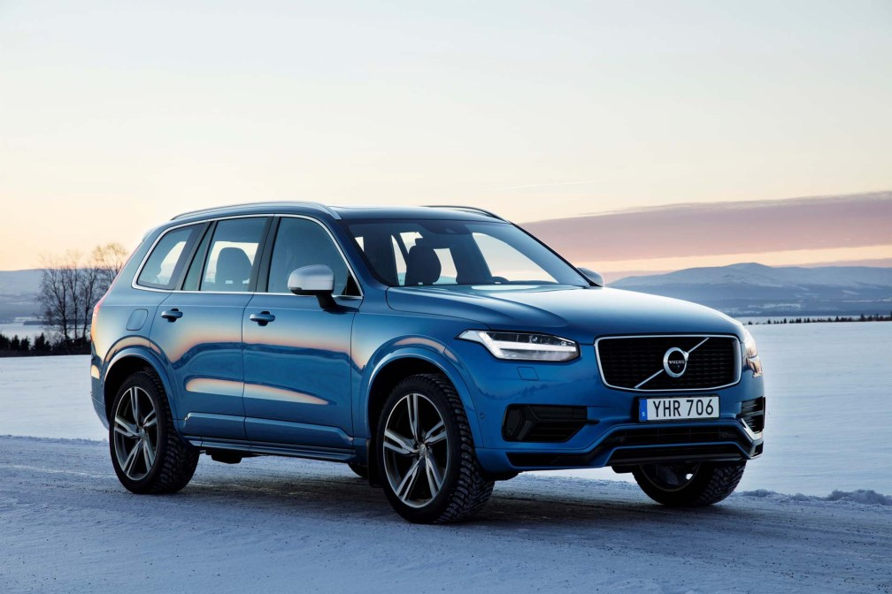 2018 Volvo XC90 plug-in hybrid SUV: bigger battery, slight ...