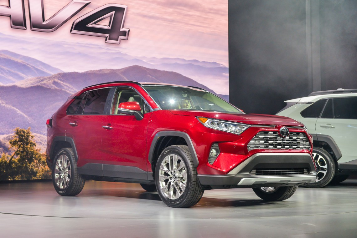 2019 toyota rav4: looking more suv than crossover