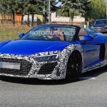 2020 Audi R8 Spyder Spy Shots