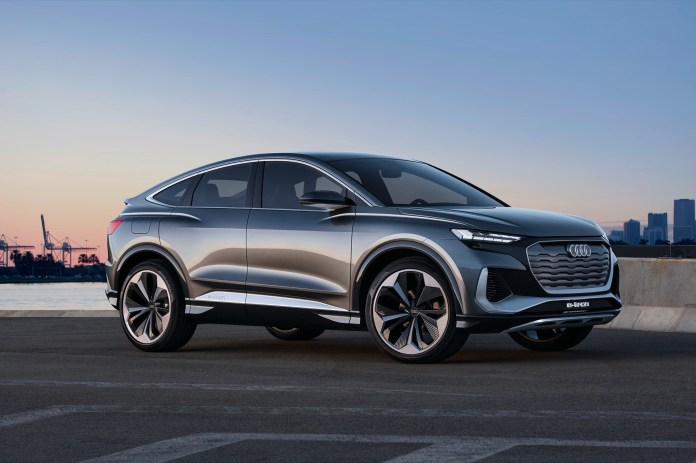 "Audi Q4 Sportback E-Tron concept steers sensible electric SUV toward ""dynamic elegance"""