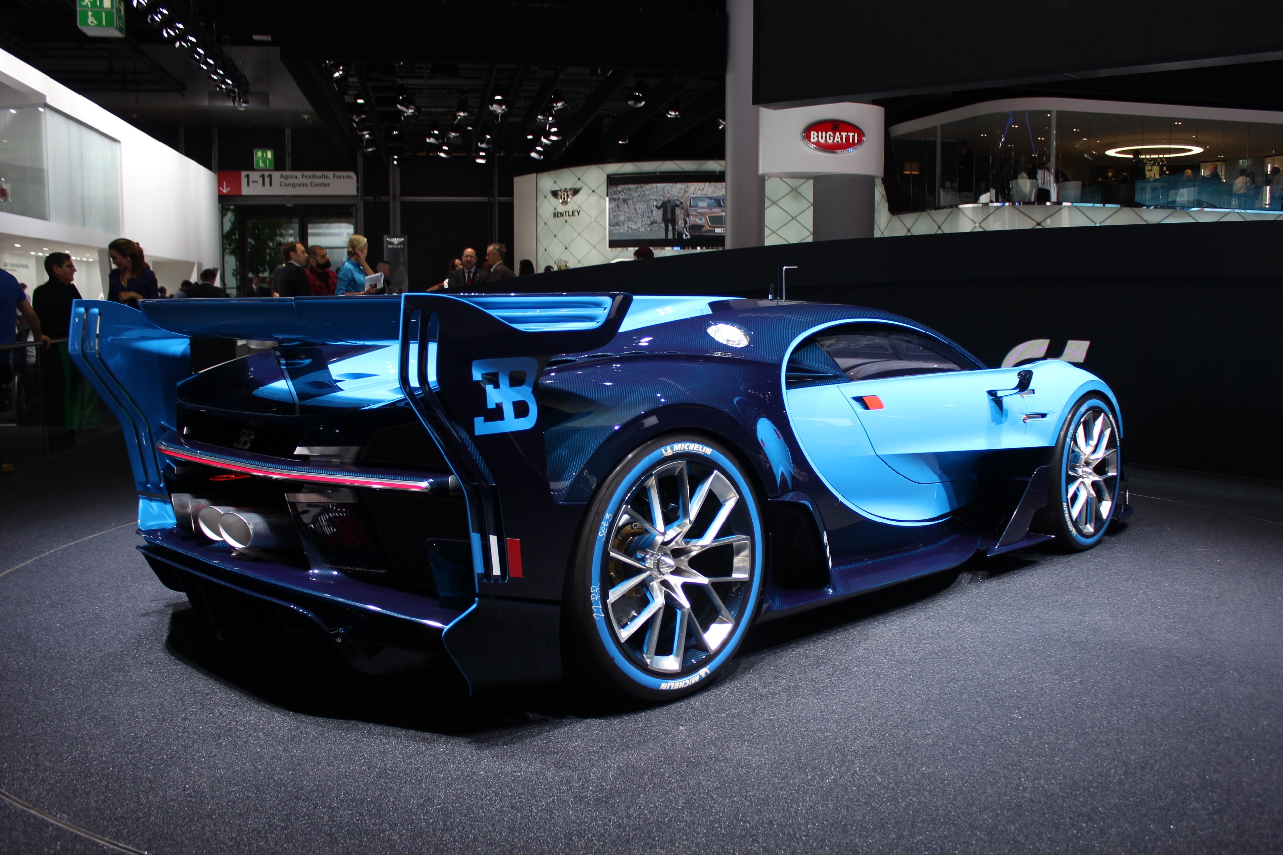 Hear The Bugatti Vision GT Concepts Engine Start Up And