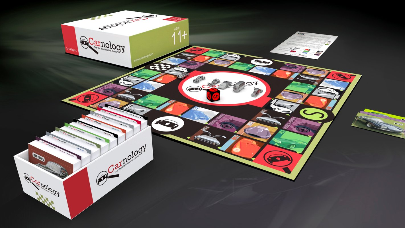Classic Car Spotters We Found Your Board Game