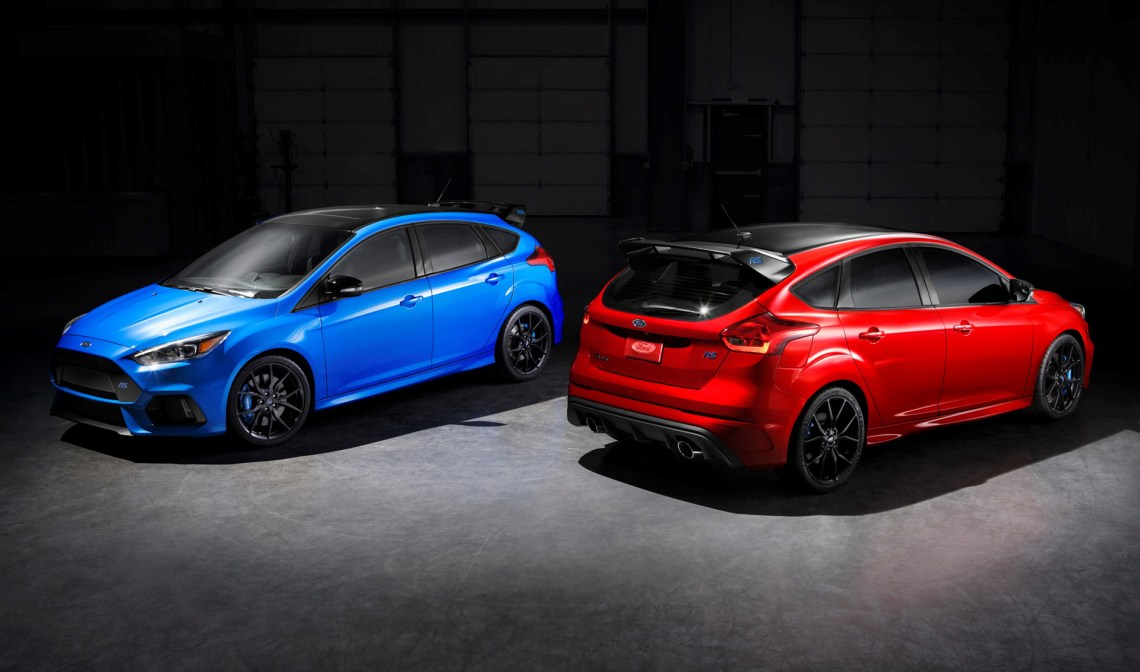 2018 ford focus rs limited edition priced at $41,995