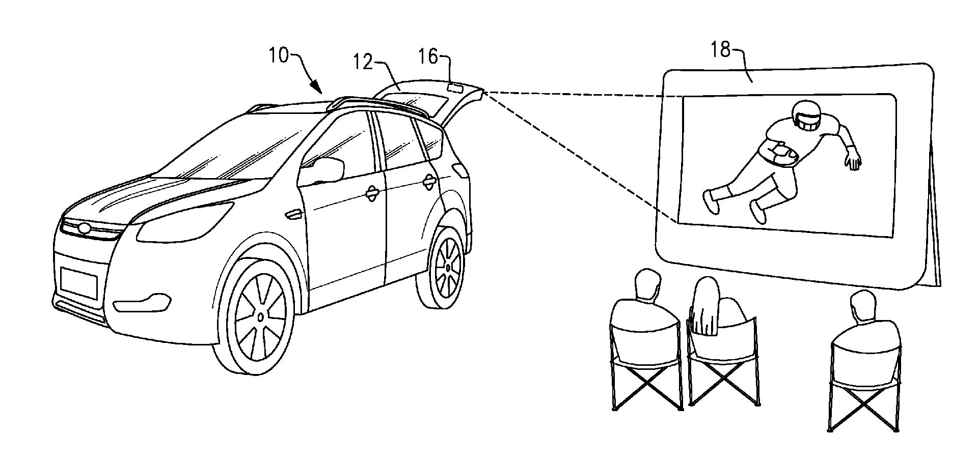 Ford Wants To Turn Vehicles Into Rolling Movie Theaters