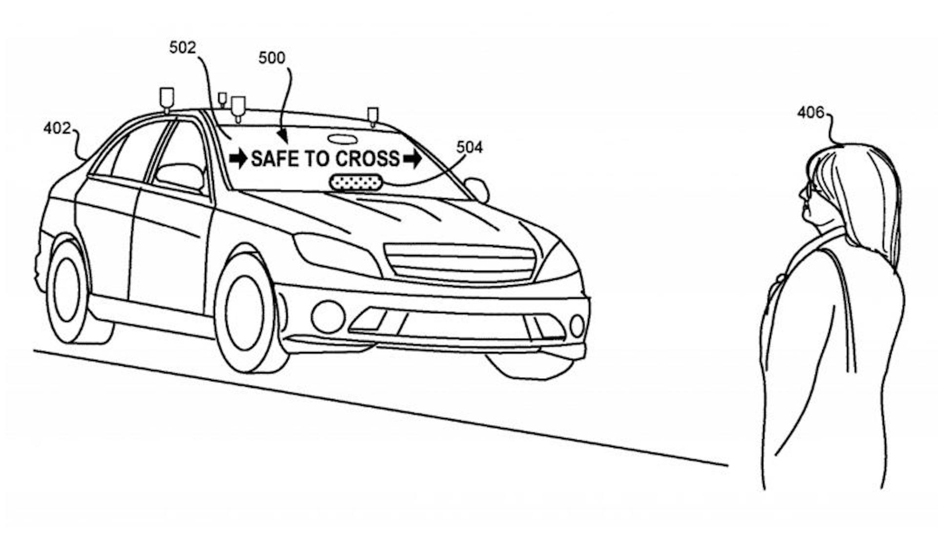 Lyft Patents Pedestrian Notification System For Self