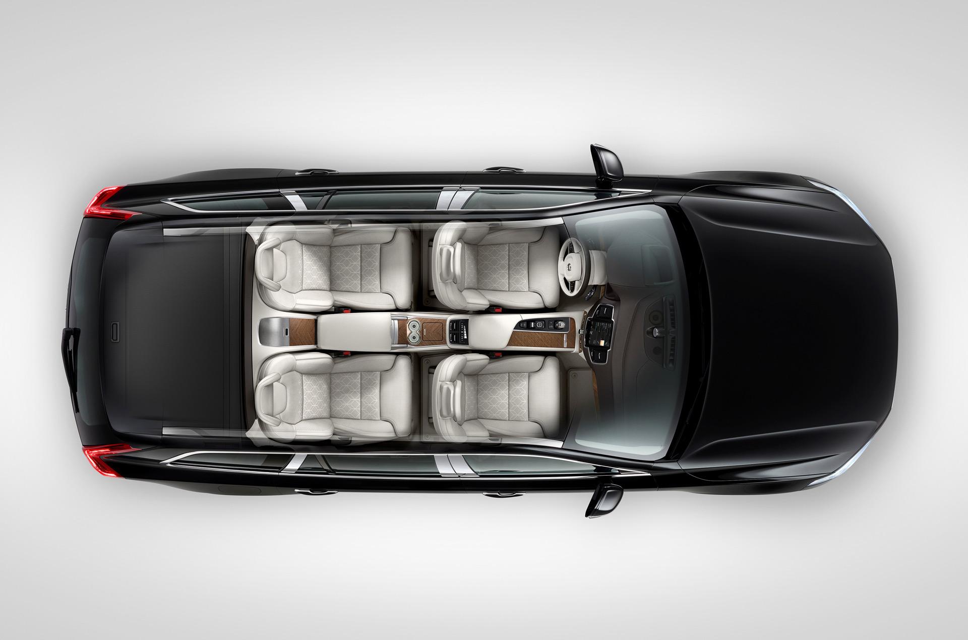 Suv 2016 Seating Xc90 Volvo