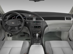 Image: 2008 Chrysler Pacifica 4door Wagon Touring FWD Dashboard, size: 1024 x 768, type: gif