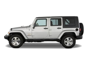 Image: 2008 Jeep Wrangler RWD 4door Unlimited Sahara Side