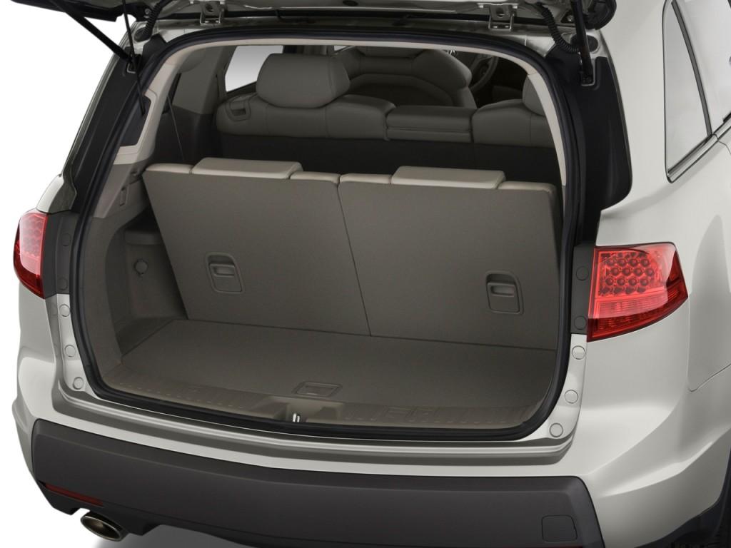Image 2009 Acura MDX AWD 4 Door Trunk Size 1024 X 768