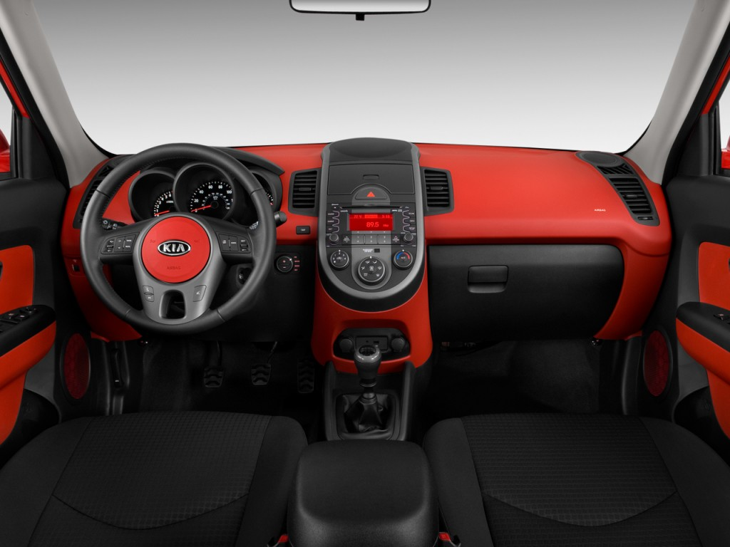 Image 2010 Kia Soul 5dr Wagon Auto Sport Dashboard Size