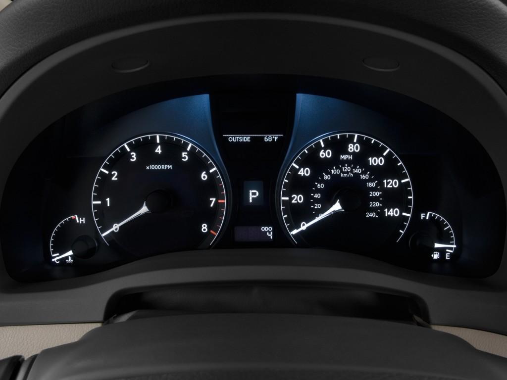 Image Lexus Rx 350 Fwd 4 Door Instrument Cluster