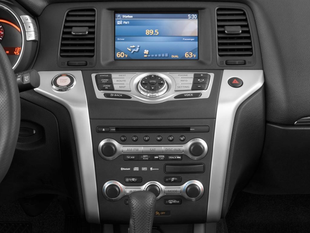 Image 2010 Nissan Murano Awd 4 Door Le Instrument Panel