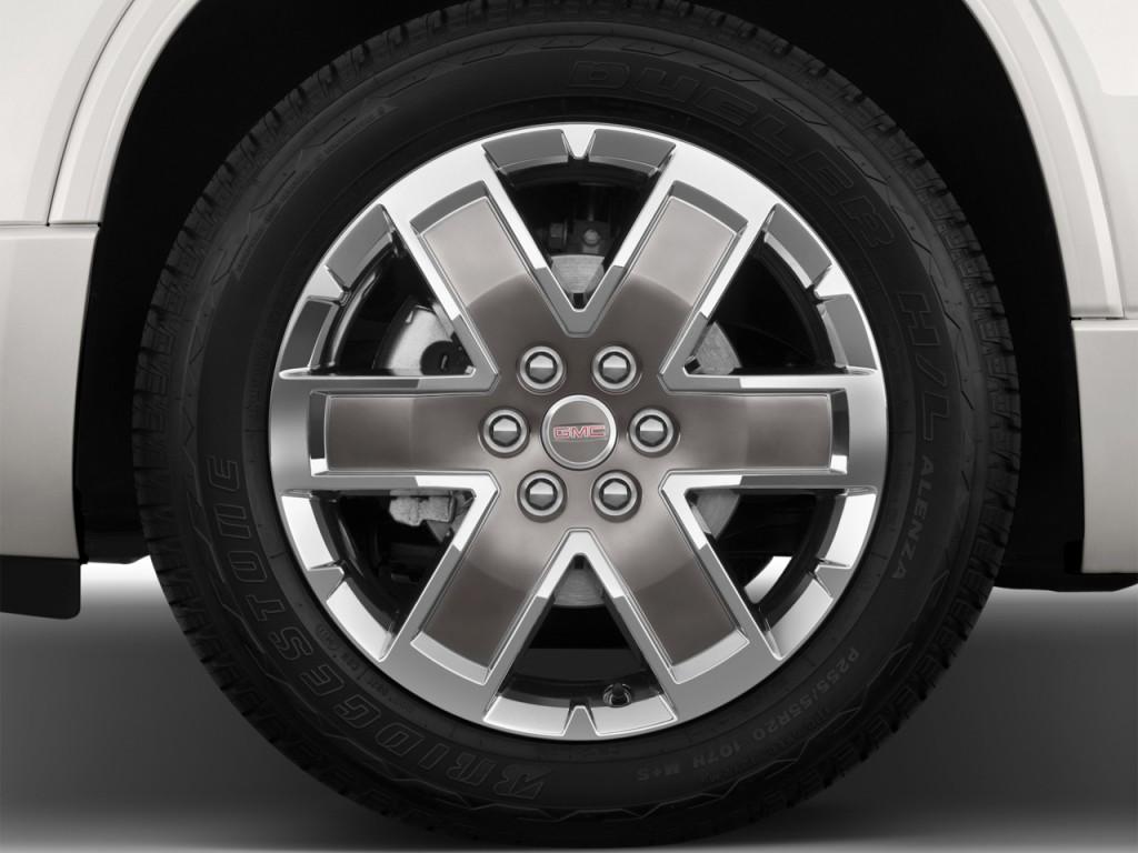 Image 2012 Gmc Acadia Fwd 4 Door Denali Wheel Cap Size