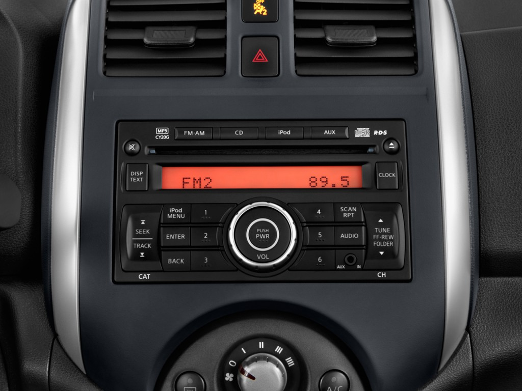 Upgrade 2013 Versa Stereo Sedan System Nissan