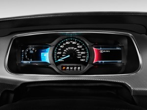 Image: 2013 Ford Taurus 4door Sedan SHO AWD Instrument Cluster, size: 1024 x 768, type: gif