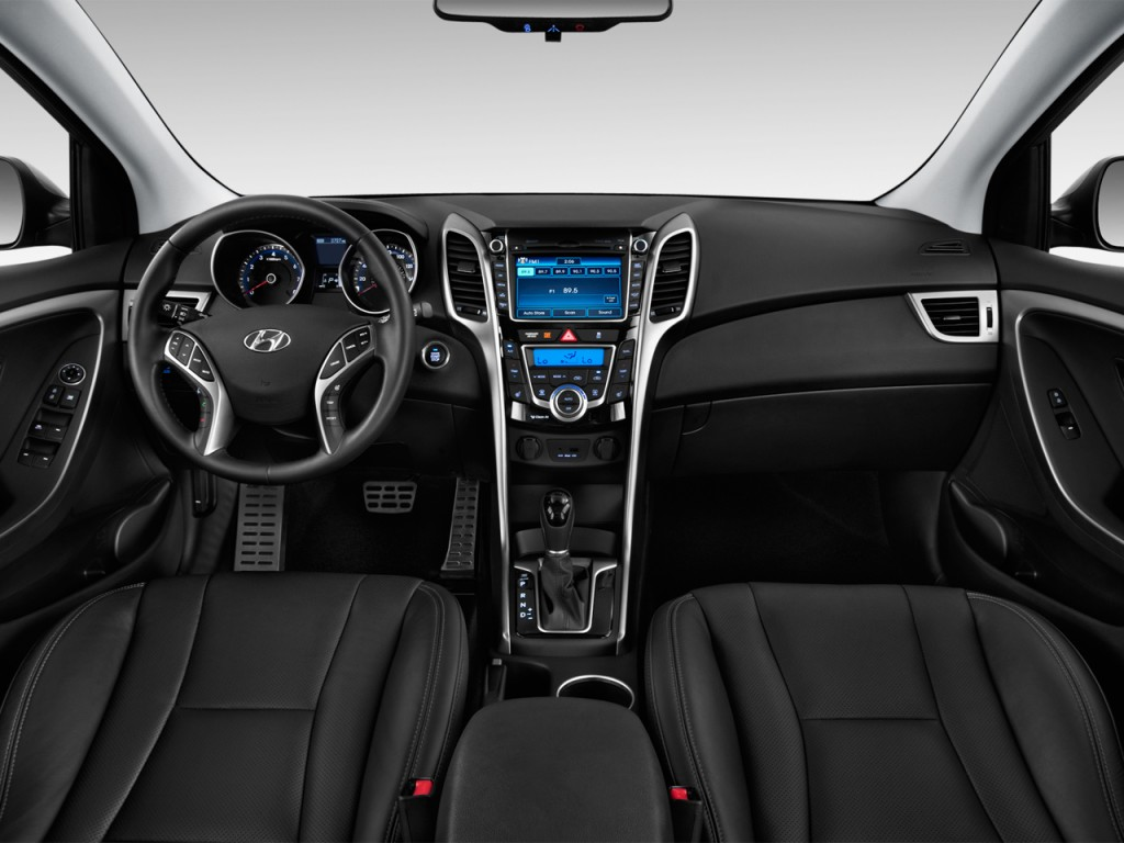Image 2013 Hyundai Elantra GT 5dr HB Auto Dashboard Size