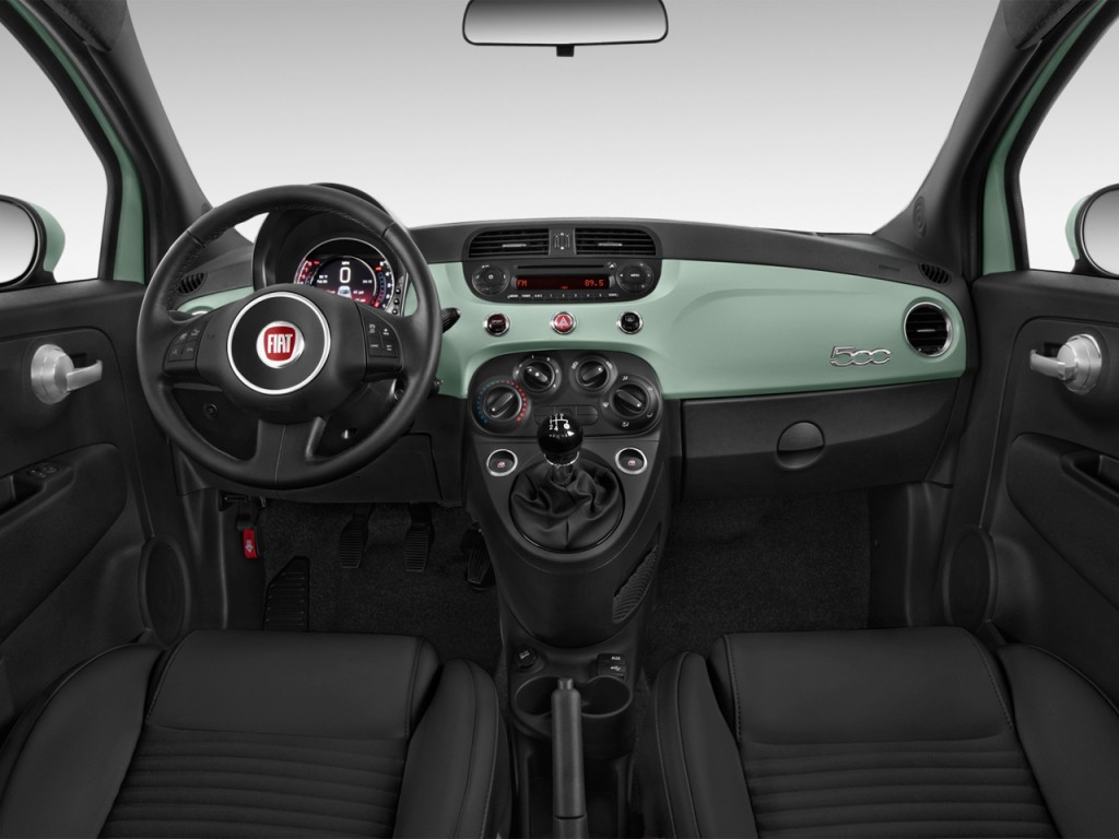 Image 2015 Fiat 500 2 Door Hb Sport Dashboard Size 1024 X 768 Type Gif Posted On May 4