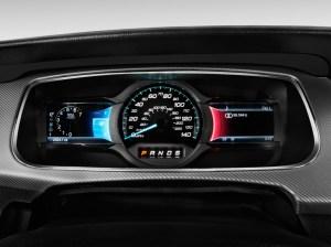 Image: 2016 Ford Taurus 4door Sedan SHO AWD Instrument Cluster, size: 1024 x 768, type: gif
