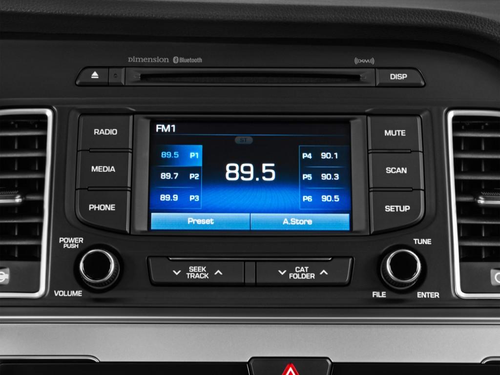 Image 2016 Hyundai Sonata 4 Door Sedan 24L Limited Audio