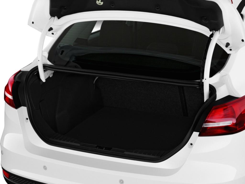 Image 2017 Ford Focus Titanium Sedan Trunk Size 1024 X