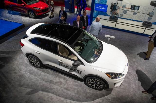 Ford Escape 2020, Salón Internacional del Automóvil de Nueva York 2019