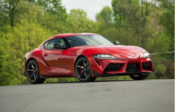 Duffer: Toyota Supra wears BMW
