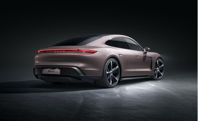 2021 Porsche Taycan rear-wheel drive
