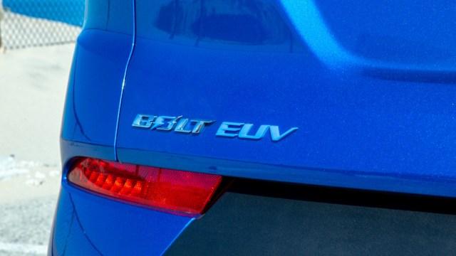 Chevrolet Bolt 2022 EUV