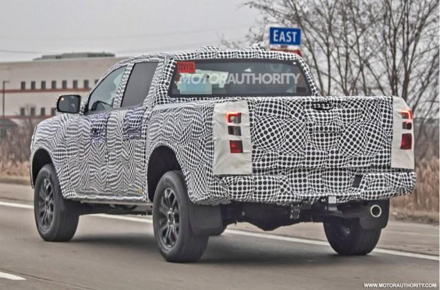 2022 Ford Ranger spy shots - Photo credit:S. Baldauf/SB-Medien