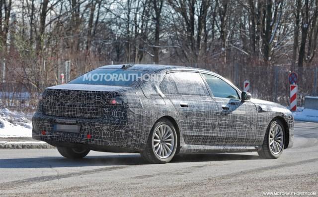 2023 BMW i7 spy shots - Photo credit:S. Baldauf/SB-Medien