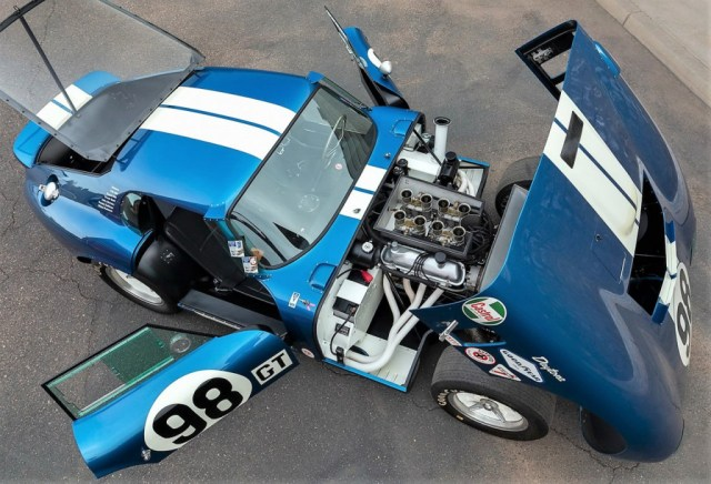 1965 Shelby Cobra Daytona Coupe that was owned by Carroll Shelby | Worldwide photos