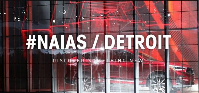 Detroit auto show logo