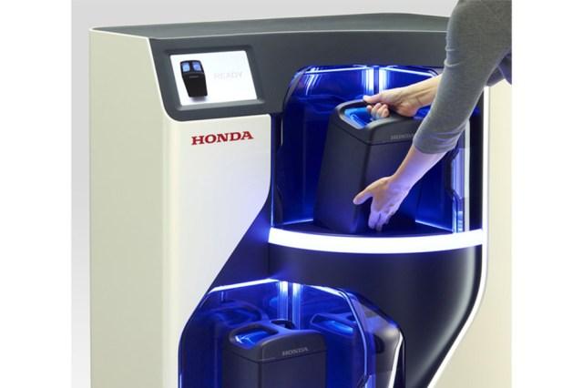 Intercambiador de paquete de energía móvil Honda