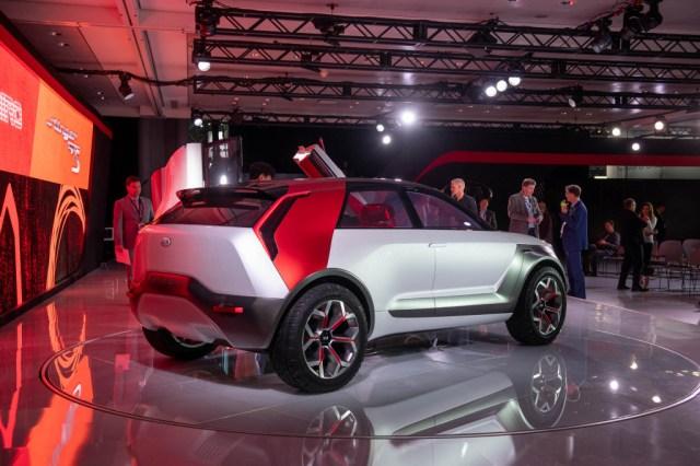 Kia Habaniro Concept, 2019 New York International Motor Show