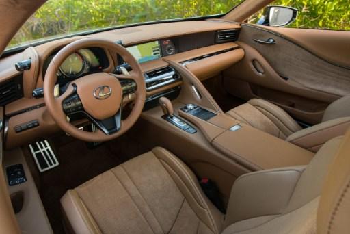 Lexus LC 500 - Interior