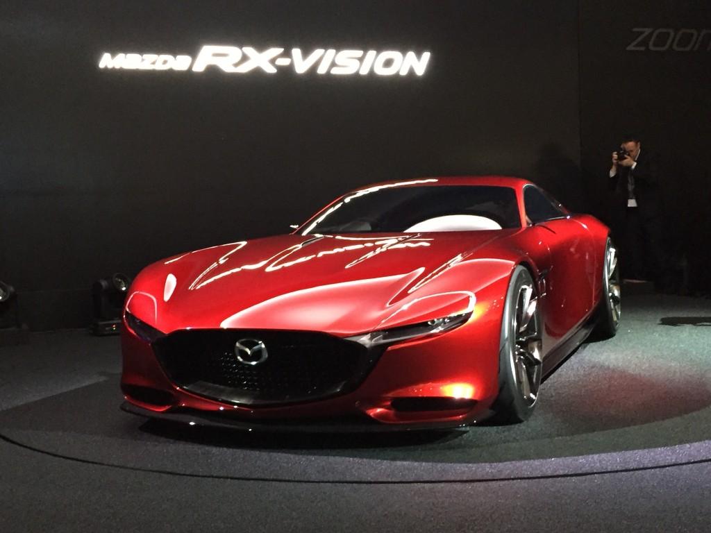Image Mazda RX Vision Concept 2015 Tokyo Motor Show