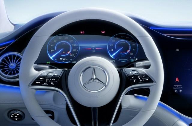 Interior del Mercedes-Benz EQS