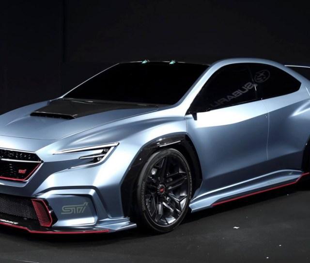 Subaru Viziv Performance Sti Concept Debuts Could Hint At Next Gen Wrx Sti