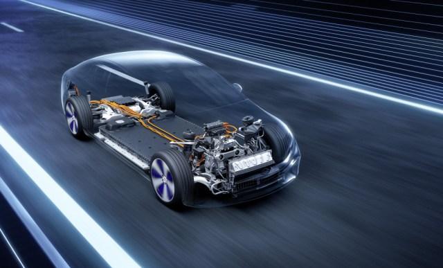 Avance del debut del Mercedes-Benz EQS 2022 el 15 de abril de 2021