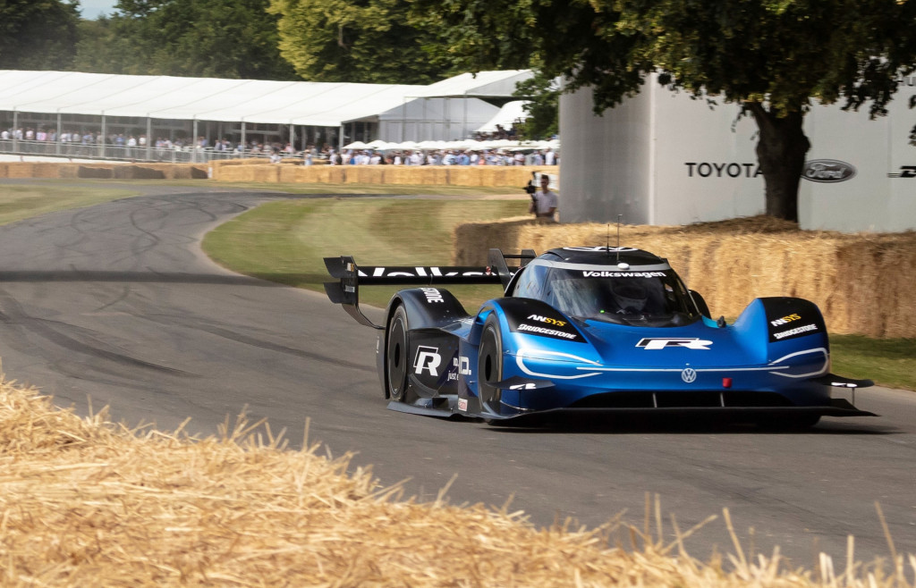 Volkswagen ID R at the 2019 Goodwood Festival of Speed