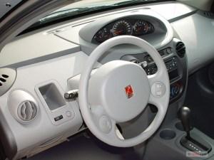 Image: 2003 Saturn Ion ION 2 4door Sedan Manual Dashboard