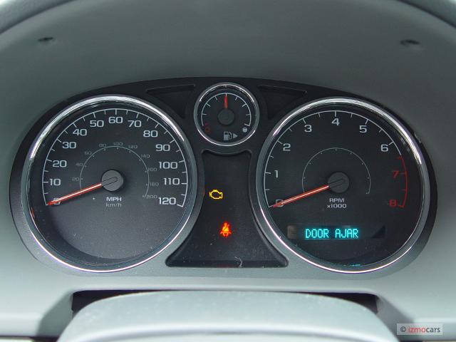 Image 2006 Chevrolet Cobalt 4 Door Sedan LS Instrument