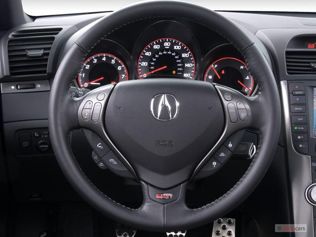 Image 2007 Acura Tl 4 Door Sedan Mt Type S Steering Wheel